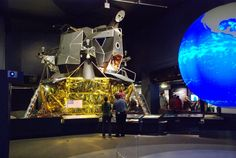 "Replica of lunar lander ""Eagle"", Science Museum Museum, South Kensington, London, England. (Credit: Been there-done that) ©Mona Evans, ""Space at the Science Museum London"" http://www.bellaonline.com/articles/art179333.asp"
