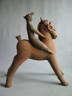"""""""MASKED""""        ceramic                                      by Klaus Dusselberg"""