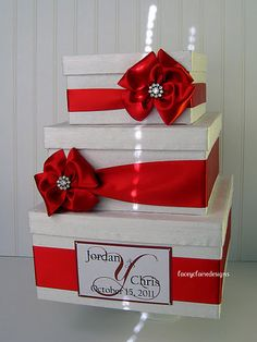 Wedding Card Box Money Card Box Gift Card by LaceyClaireDesigns, $108.00- definitely can make myself!