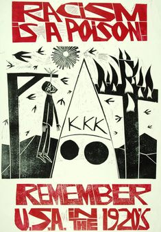 In 1979, artist and designer Paul Peter Piech incurred the wrath of the U.S. Embassy in London, which objected to his use of the American flag in a poster. In Protest Posters, Protest Art, Linocut Artists, Arte Punk, Literary Themes, Political Art, Art Graphique, History Museum, Pics Art