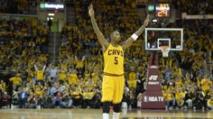 "J.R. Smith said he's happy to be in Cleveland because ""there's nothing but basketball."""