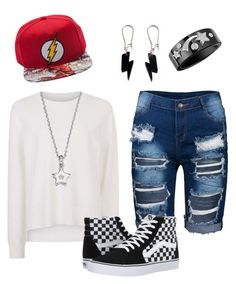 """Flash fan"" by victoriapond on Polyvore featuring art"