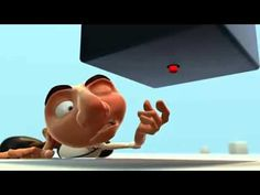 The Switch - Perfect for teaching prediction. Pause film at point where man sees red button and see if kids can predict what will happen to him based upon their knowledge of cartoon physics and plots. :)