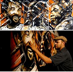 Augustine Kofie is a  Los Angeles based, contemporary fine artist and muralist. www.keepdrafting.com