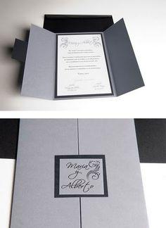 invitaciones de boda elegantes - Buscar con Google