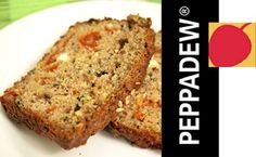 Got loads of zucchini and not sure how to use them up? This delicious zucchini, Peppadew and feta quikck bread is simple to make, moist and packed with flavour! Recipe Folder, Bread And Pastries, Meatloaf, Feta, Banana Bread, Zucchini, Breads, Desserts, Recipes