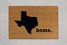 Hey, I found this really awesome Etsy listing at https://www.etsy.com/listing/239439774/texas-doormat-texas-door-mat-texas
