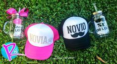 Cachuchas Novia y Novio!