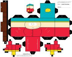 Cartman Cubee by jordof131 on deviantART