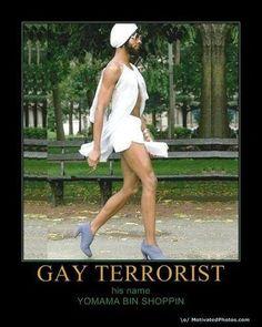 gay terrorist from Don't-B-Offen-Dead