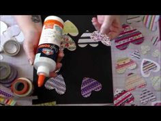 Super Easy DIY Embellishments Using Your Washi Stash! - YouTube
