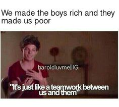 True xD but I really don't mind, they're worth it and they've worked so hard, they deserve it (: