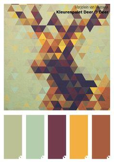 "Color palette ""Deer O Deer"""