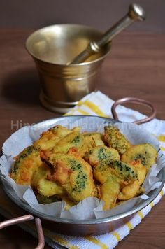 Broccoli fritti con pastella di farina di ceci
