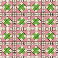 Peony Crossing in Quilt View on QuiltPro.com