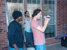 Director Raymon and Camera man Tula