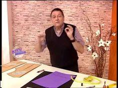 Hermenegildo Zampar - Bienvenidas - TV  Explica el Molde del Cuello Camisero.