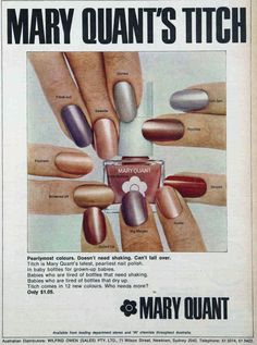 I like vintage stuff. Mostly from Much of the content here comes from the Australian Women's Weekly. Vintage Makeup Ads, Vintage Nails, Retro Makeup, Vintage Glamour, Vintage Beauty, 1960s Makeup, Vintage Vanity, Vintage Vogue, Vintage Fashion