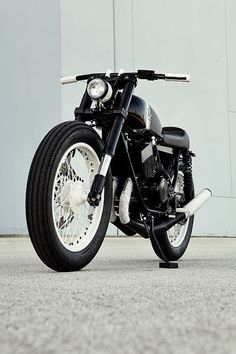 Yamaha S2RD by Analog Motorcycles