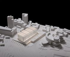District Courthouse Proposal / Chyutin Architects,Courtesy of Chyutin Architects