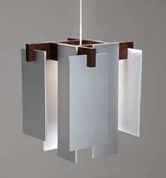 The Salix pendant's materials and proportions are in perfect harmony.