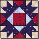 Union Square Variation from Marcia Hohn's Quilt Blocks Galore