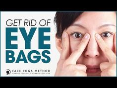 How to Get Rid of Eye Bags with the Face Yoga Method Massage Facial, Yoga Facial, Anti Rides Yeux, Cabelo Ombre Hair, Face Yoga Method, Face Yoga Exercises, Under Eye Bags, How To Get Rid Of Bags Under Eyes, Too Faced
