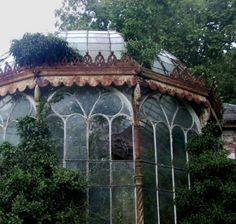 Steampunk Tendencies ~ Abandoned Greenhouse