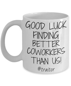 Coworker Mug, Leaving Mug, Colleague Work Friend Leaving Gift, Good Luck Finding Better Coworkers Than Us, Funny Going Away Farewell Gift – Gift Ideas