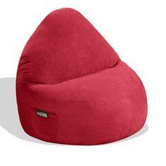 Relax Sack 7 Ft Microsuede Foam Bean Bag Sofa