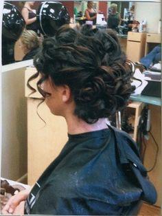 Dream prom hair!