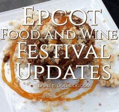 Epcot Food and Wine Festival Updates 2016 - Walt Disney World   Here's the latest word on the Eat to the Beat line-up