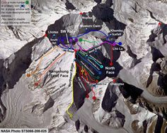 Routes to Summit Climbing Mount Everest: Everything You Need To Know Mountain Climbing, Rock Climbing, South Col, Mount Everest Base Camp, Monte Everest, Climbing Everest, Whitewater Kayaking, Canoeing, Base Jumping