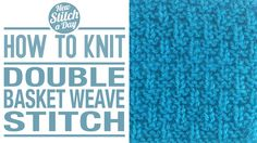 Knitting Tutorial: How to Knit the Arched Cable Stitch. Knitting Stiches, Knitting Videos, Crochet Videos, Loom Knitting, Crochet Stitches, Knitting Patterns, Knit Crochet, Knitting Tutorials, Knitting Club