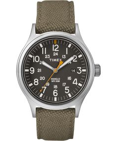22bfcac2ae88 Timex Expedition Scout Military Indiglo Black Nylon Band Gender - Features  - Light