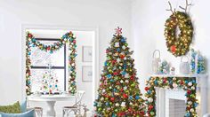 ... with Garland and Ornaments