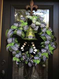 Green Witch Wreath