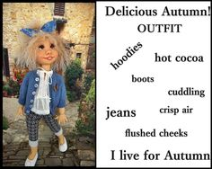 doll outfit for duda the trinket box kid by JazzyRagsFran on Etsy