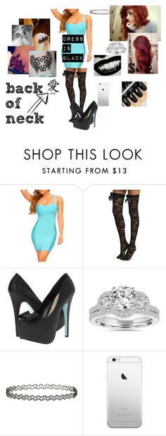 """date night~Nikki"" by satandaughter ❤ liked on Polyvore featuring Betsey Johnson, Bliss Diamond and Miss Selfridge"