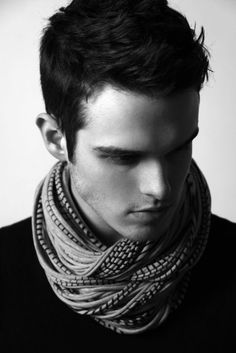 How do you even get your scarf to look like that?