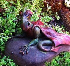 OOAK dragon sculpture