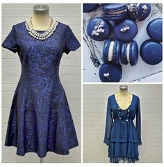 Beautiful blues now available at #NicciBoutiques