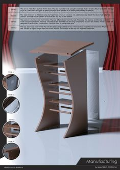 Lectern Competition by Maruf Miah at Coroflot.com