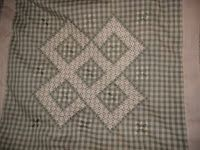 Chicken Scratch Queen Size Quilt Top Finished-Will soon be for SALE Types Of Embroidery, Embroidery Art, Embroidery Applique, Chicken Scratch Embroidery, Queen Size Quilt, Chicken Art, Gingham Fabric, Quilt Top, Cross Stitching