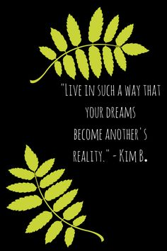 Dream Now — So You Can Live