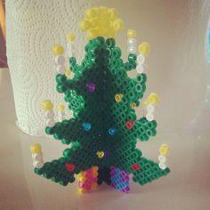 3D Yılbaşı ağacı hama beads