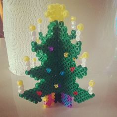 3D Christmas tree hama beads by cpraesius