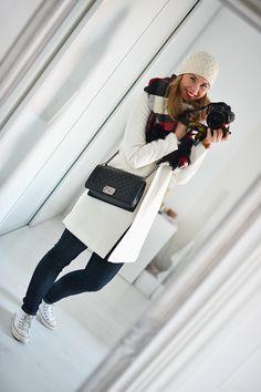 #tartan #scarf www.monasdailystyle.com