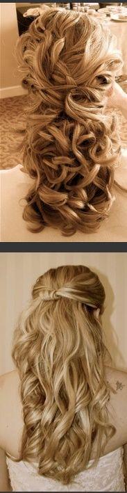 Wedding Hair idea? Fit a veil at the back?