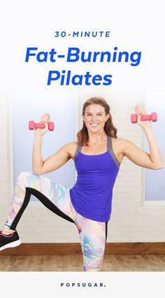 This 30-minute workout is high-octane Pilates! Trainer Kit Rich gets your heart rate up with cardio, followed by ab and outer-thigh work. Classic Pilates exercises mixed with hardcore calisthenics mean you will be burning serious fat and sculpting serious muscle.